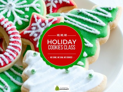 holiday cookies class