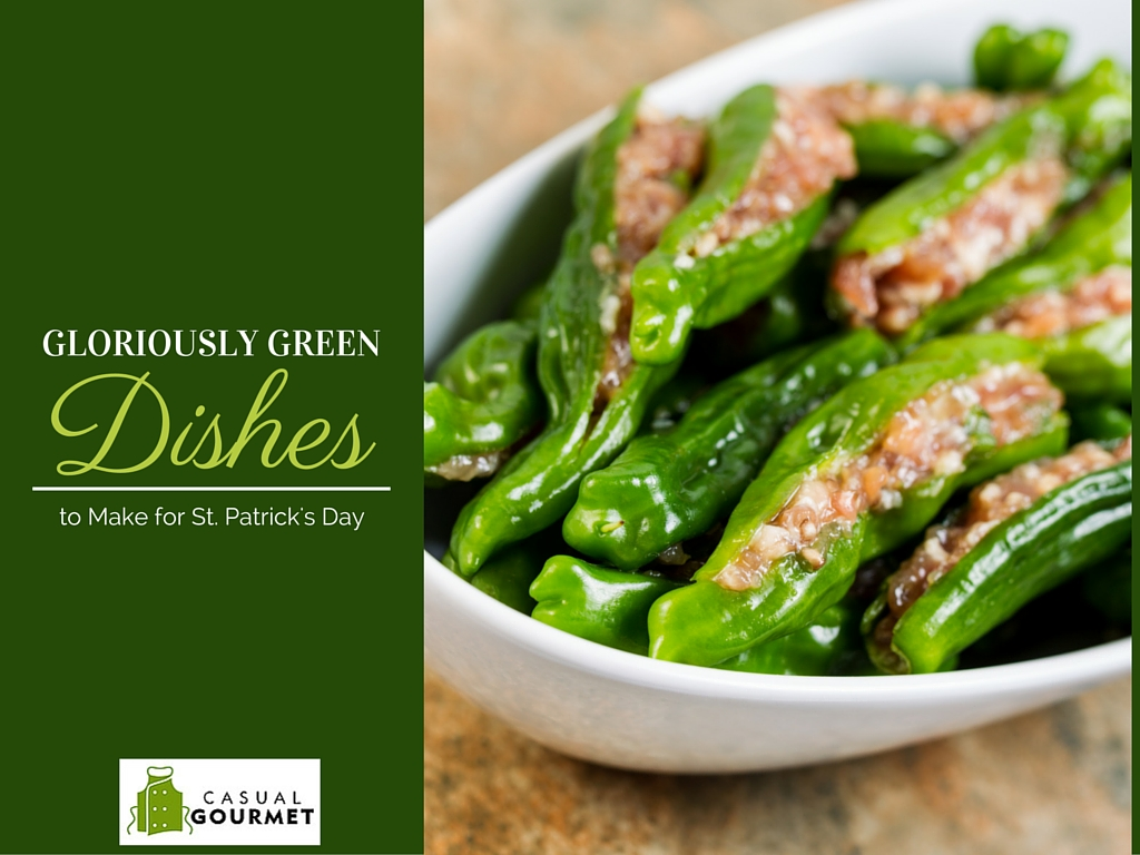 Gloriously Green Dishes to Make for Saint Patricks Day