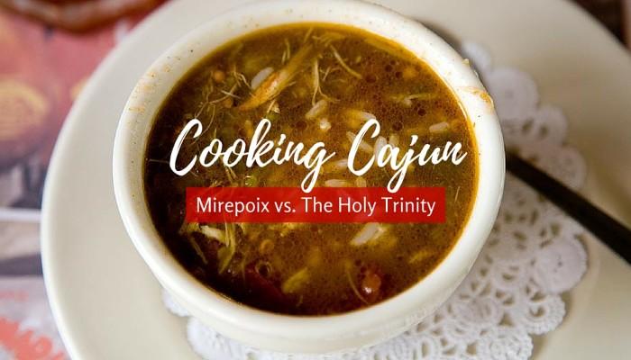 Cooking Cajun Mirepoix Holy trinity
